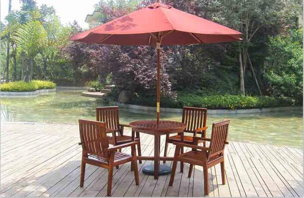 芬蘭木戶外桌椅