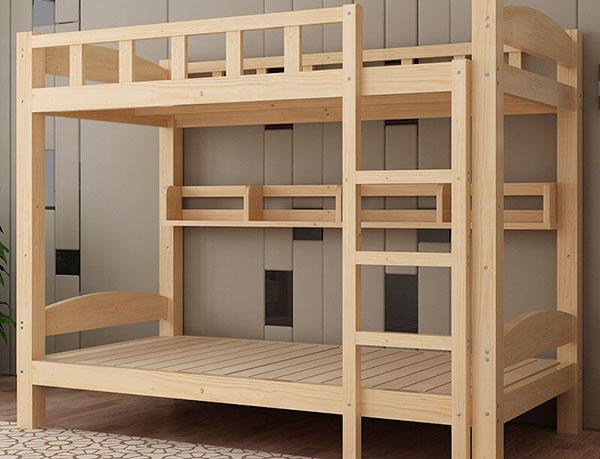 实木高低床