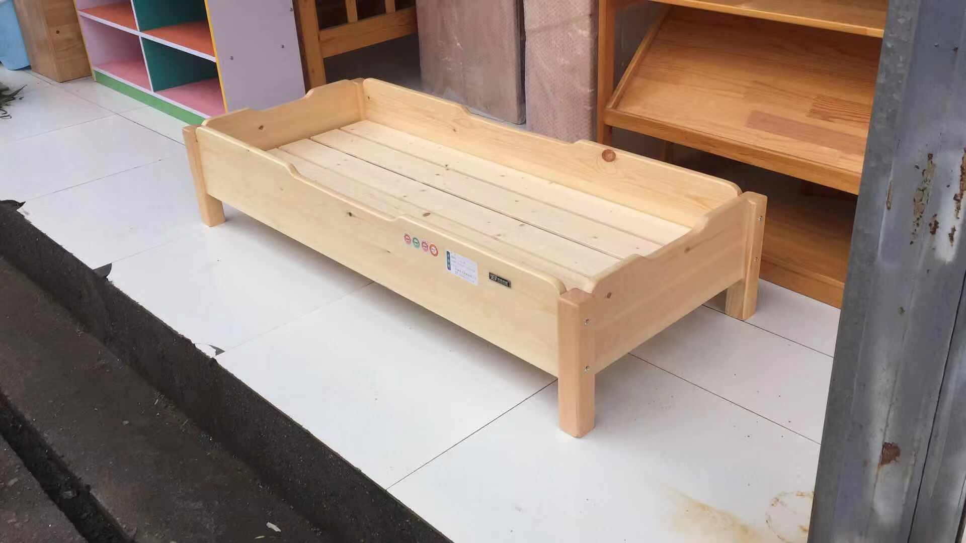 四川实木重叠床