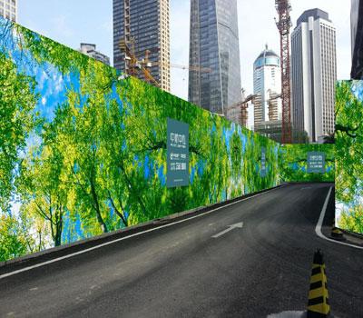 有了彩钢围挡对城市的建设美化,城市也变得多姿多彩