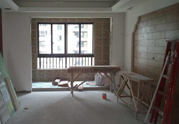 家装施工现场