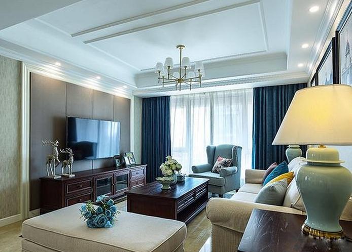 装修一定要重视的一个要点,客厅色彩搭配原则: