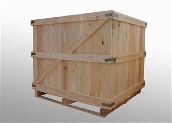 物流专用实木包装箱销售