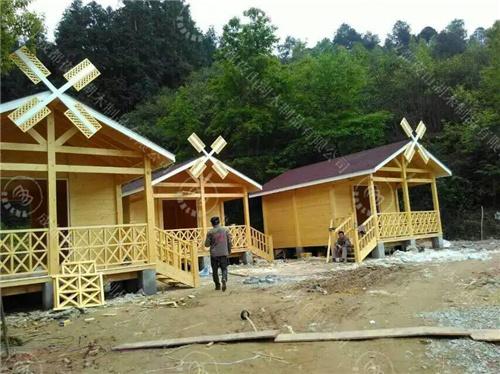 成都防腐木木屋设计