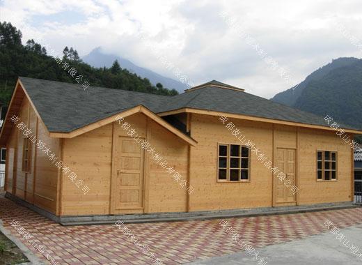 防腐木木屋——汶川木屋