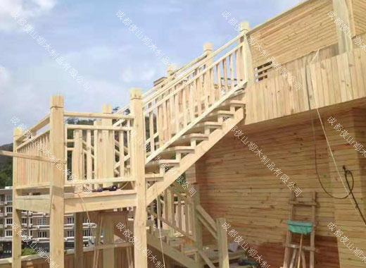 防腐木木屋—达州木屋