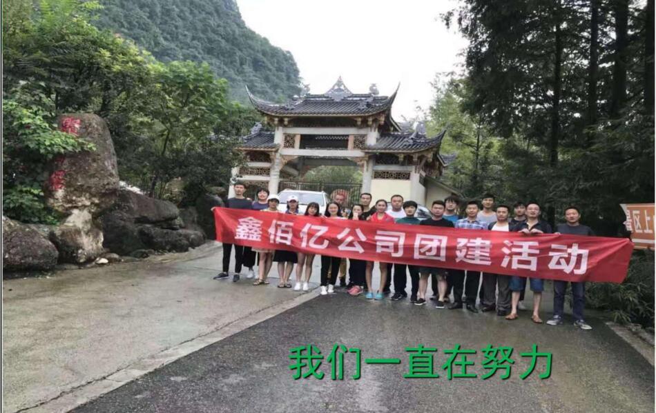 四川控製電纜作業員團體活動展示