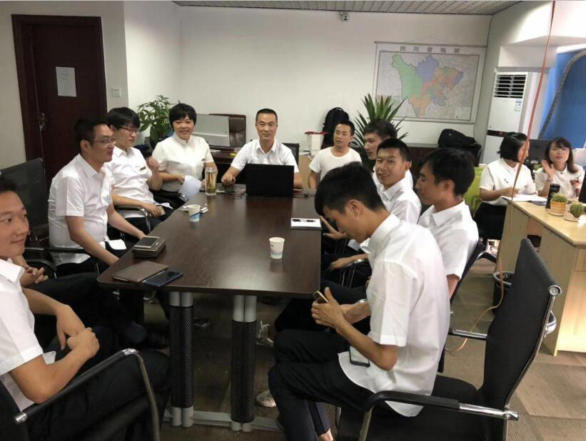 四川高壓電纜作業員會議展示