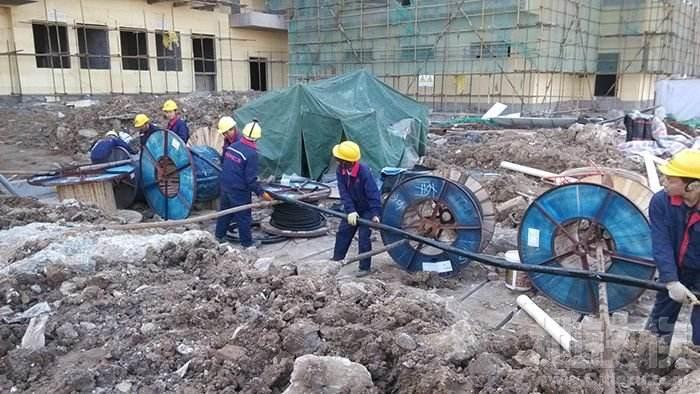 四川高压电缆案例