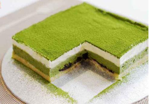 抹茶水果蛋糕