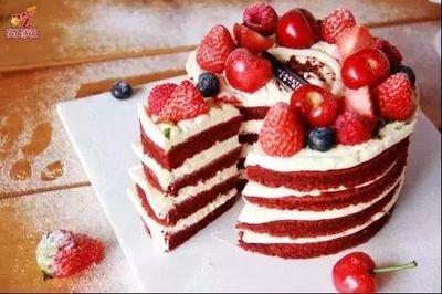 红丝绒芝士奶油蛋糕