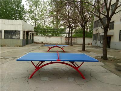 河南乒乓球台安装案例