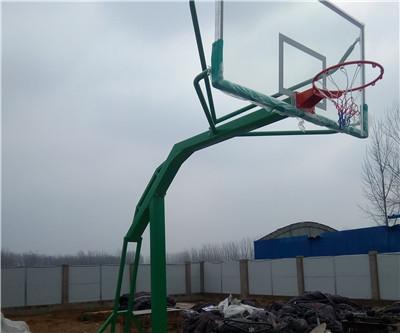 河南篮球架安装案例