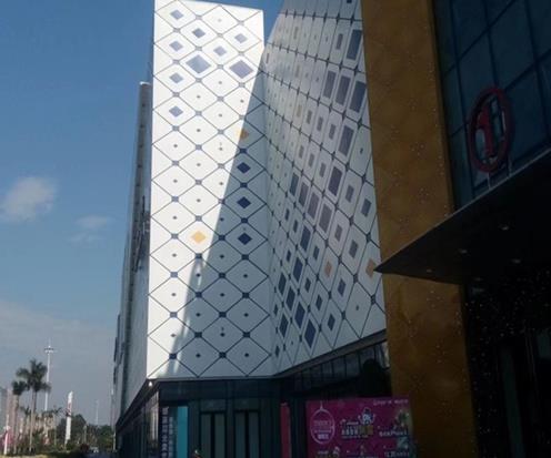 河南铝天花厂家工程系列-铝单板外墙