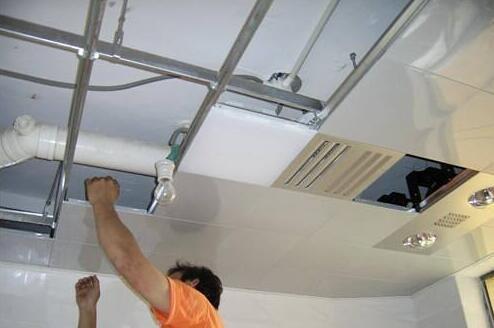 铝扣板吊顶安装