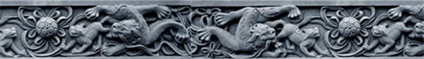 西安砖雕线条边框厂家
