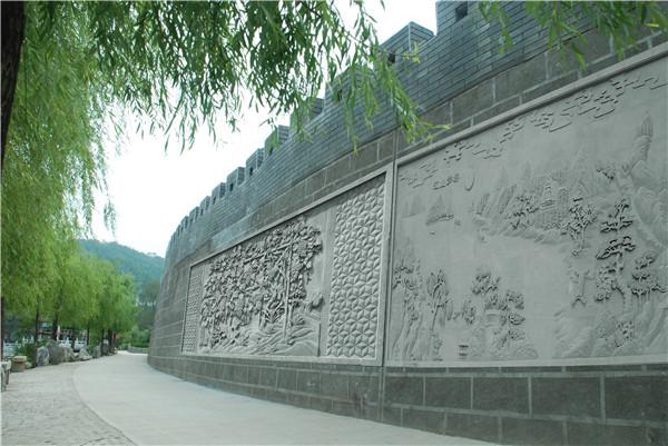 西安大幅砖雕