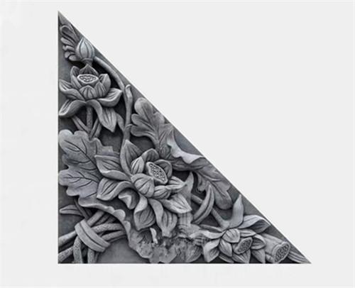 西安砖雕角花