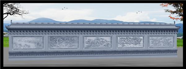 西安砖雕案例展示!