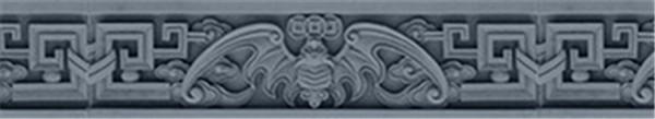 西安砖雕线条边框