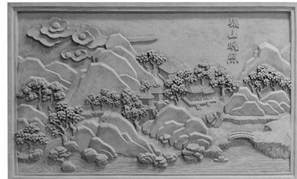 西安大幅砖雕安装
