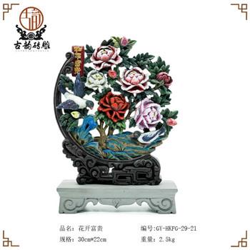西安砖雕工艺品设计新颖,服务周到!