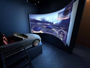 西安投影机—VR虚拟现实和VR驾驶