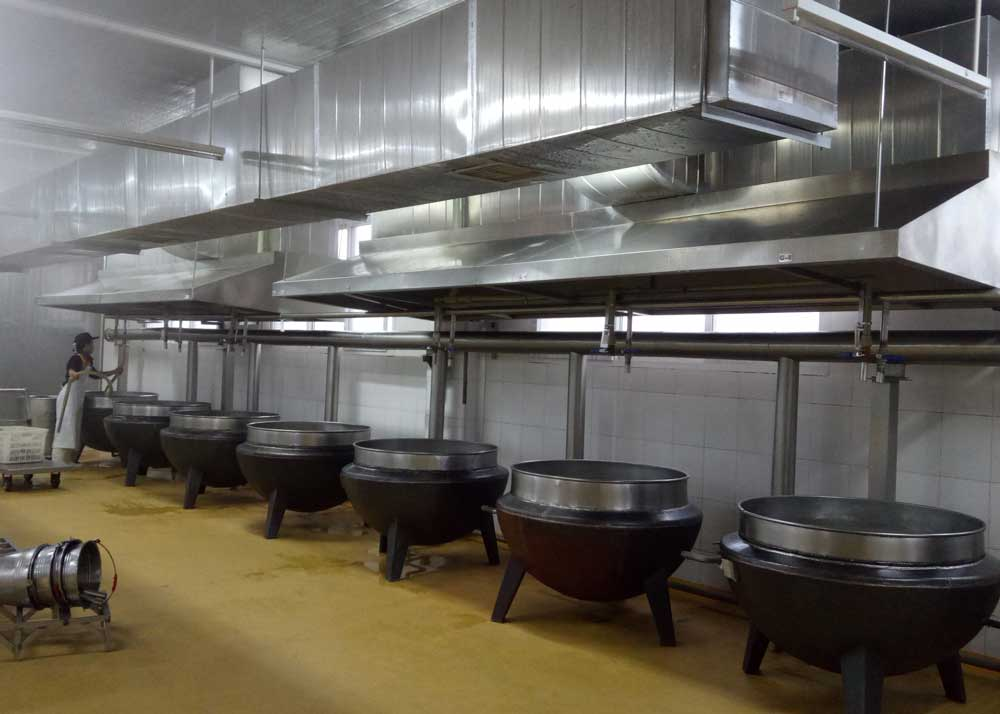 紫燕食品厨房设备工程案例