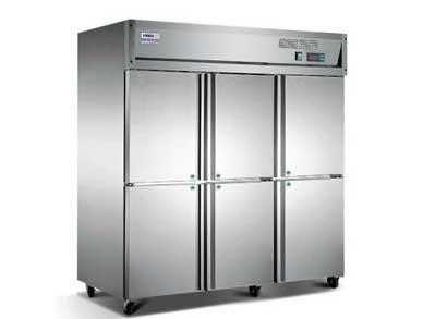 成都制冷设备-六门冰柜
