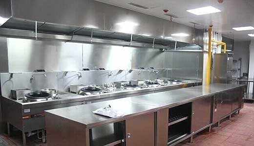 四川廚房設備工程