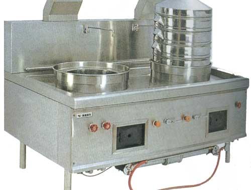 四川蒸煮設備-雙頭蒸煮爐