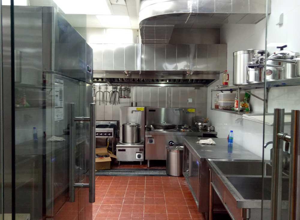 成都千禧大酒店厨房设备工程案例