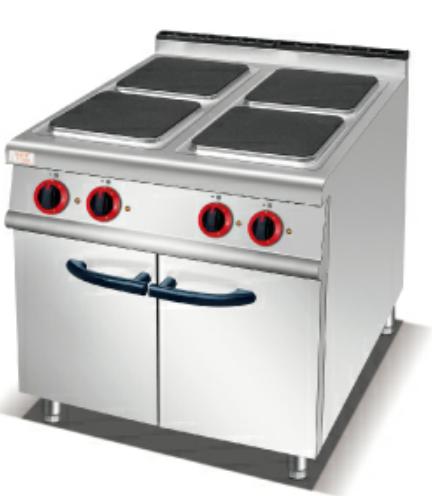 方板煮食炉连柜座