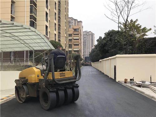 简阳沥青道路施工