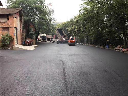 成都市政道路施工成功案例