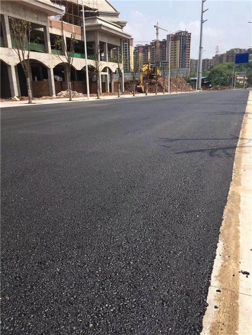 简阳市沥青道路施工工程