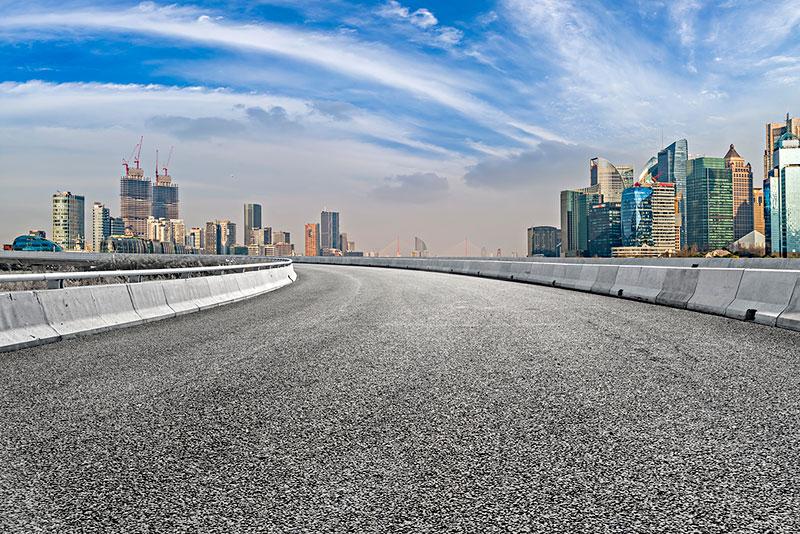 成都市沥青路面