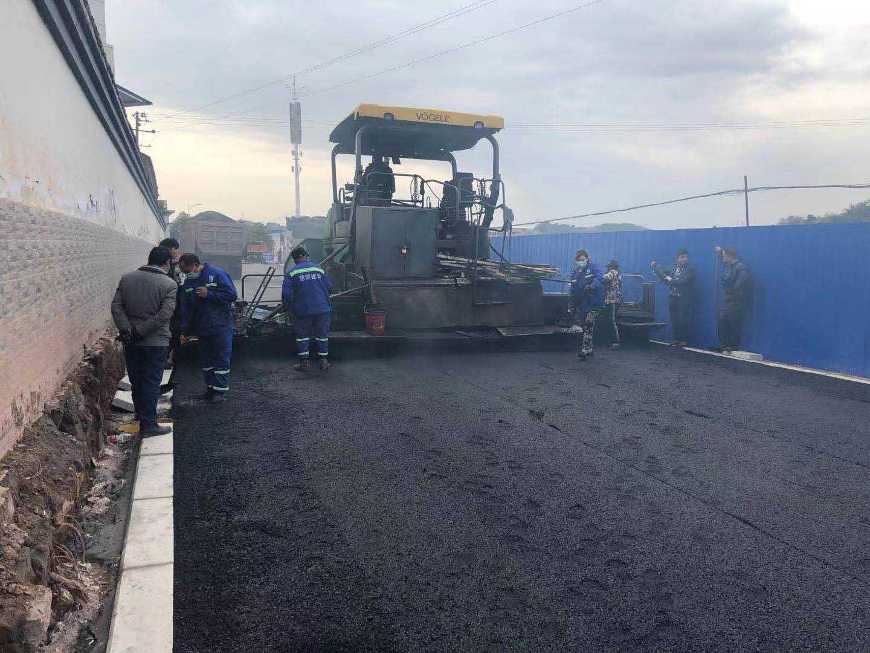 简阳市市政道路施工成功案列