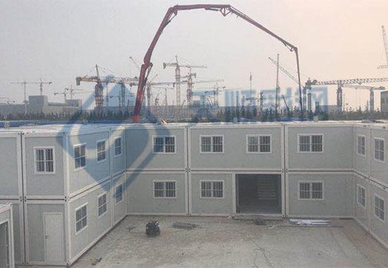 打包箱铝塑板活动房