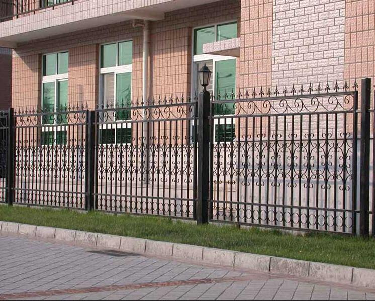 西安铁艺围墙定制