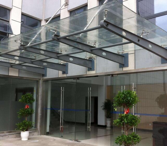 西安玻璃雨棚安装
