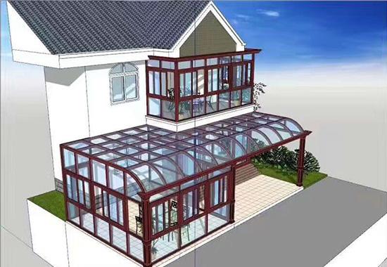 陕西丹迪斯阳光房模型
