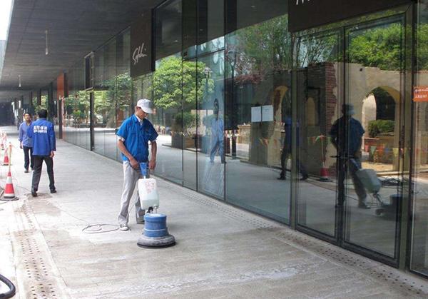 公司日常保洁服务