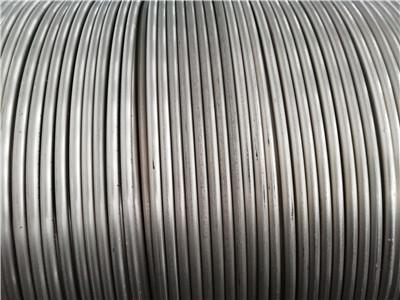金属钙丝在工业上用于钢铁的炉外精炼