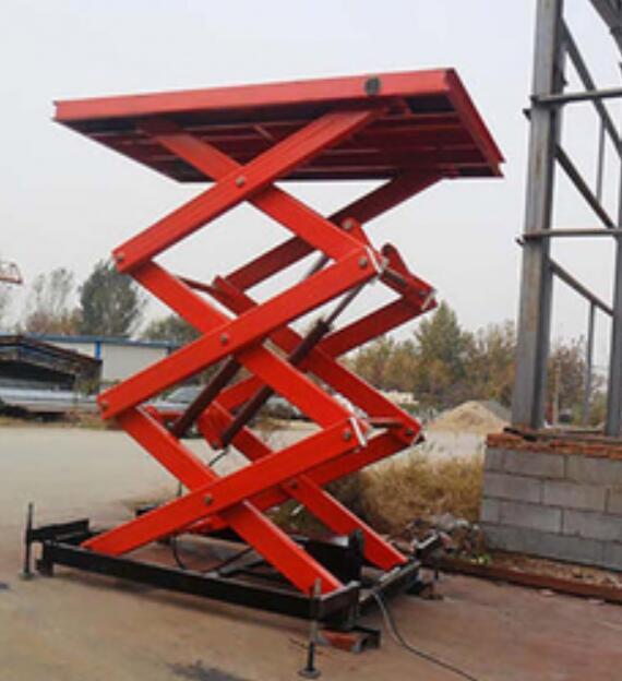 河南固定式液压升降货梯平台
