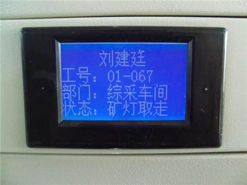 河南智能型蓝色液晶屏充电柜