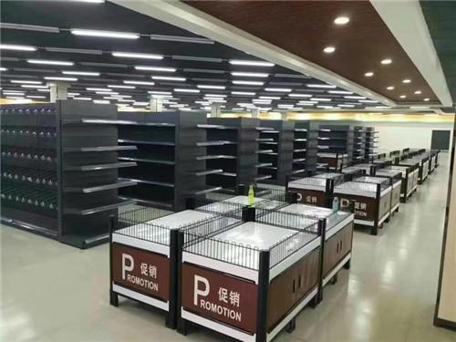 河南超市货架安装