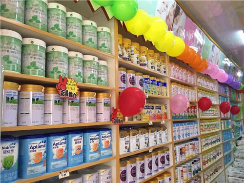 河南母婴店货架