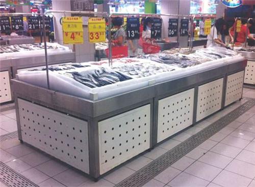 河南超市冰鲜货架