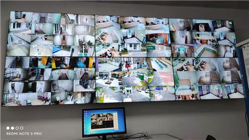 监控系统施工现场
